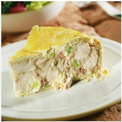 Large Chicken, Ham & Leek Pie