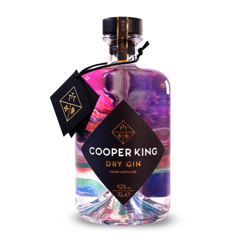 Cooper King Dry Gin, 70cl