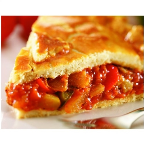 Large Mediterranean Style Vegetable Pie