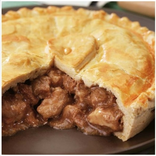 Large Pork, Apple & Cider Pie