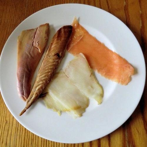 SMOKED FISH PLATTER by Severn & Wye