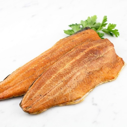 Hot Smoked Trout Fillet Single