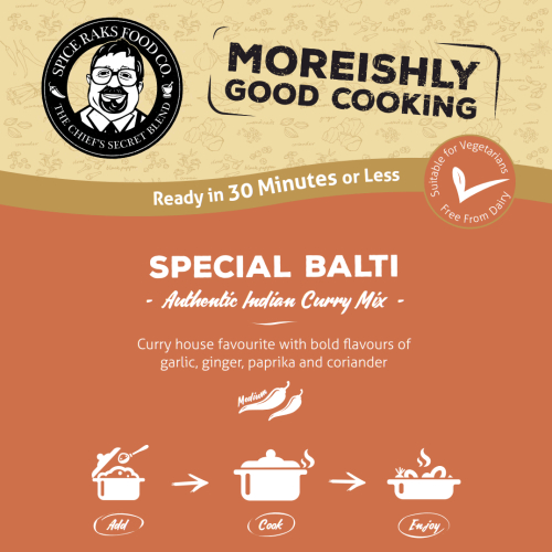 Chief's Special Balti Curry Sauce Kit ( Dry Mix )