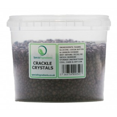 Special Ingredients Chocolate Coated Crackle Crystals 250g