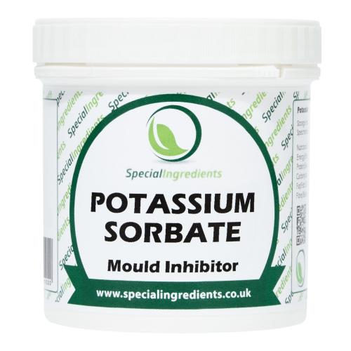 Special Ingredients Potassium Sorbate (Mould Inhibitor) 100g