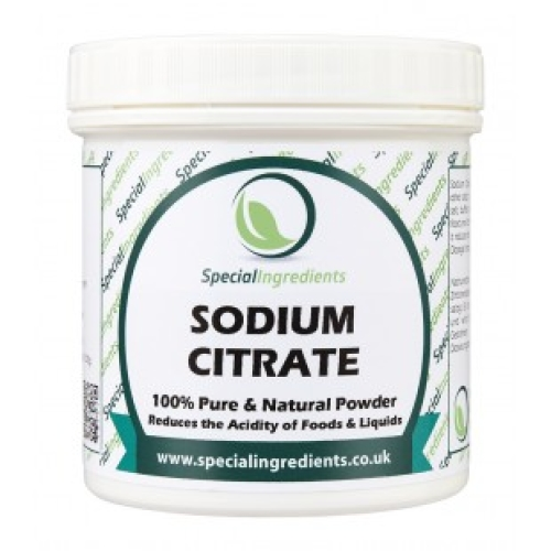 Special Ingredients Sodium Citrate (Buffer Salt) 250g