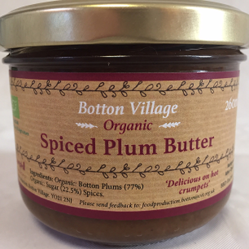 Spiced Plum Butter, Organic