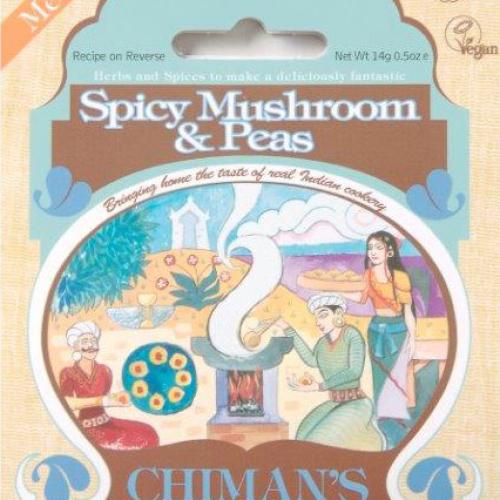 Spicy Mushroom & Pea spice mix