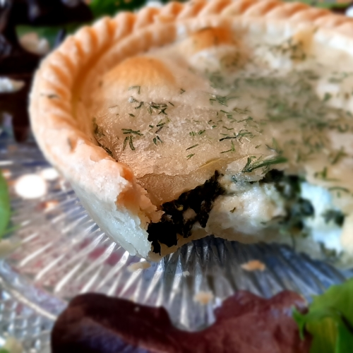 Le PETIT Salmon & Dill/Spinach & Feta Pies