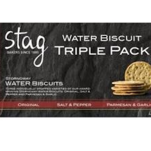 Stag - Water Biscuit Triple Pack