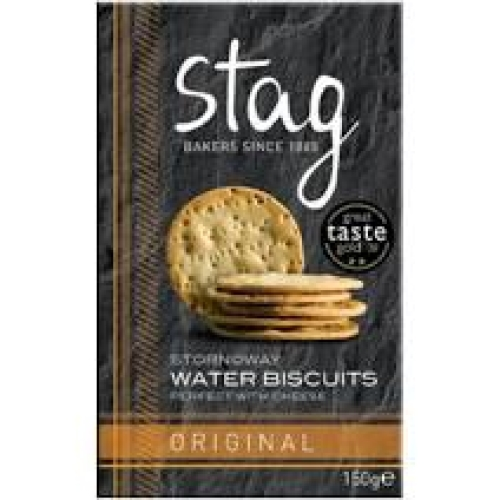 Stag -  Water Biscuits Original