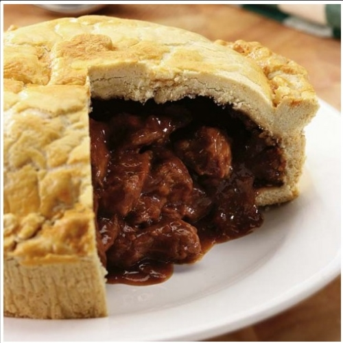 Small Beef & Ale Pie