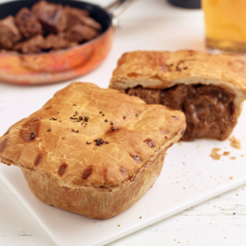 Steak & Ale Pie (frozen)