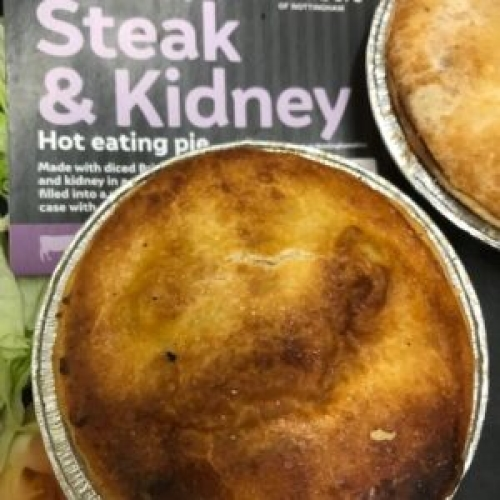 Special Steak & Kidney Pie