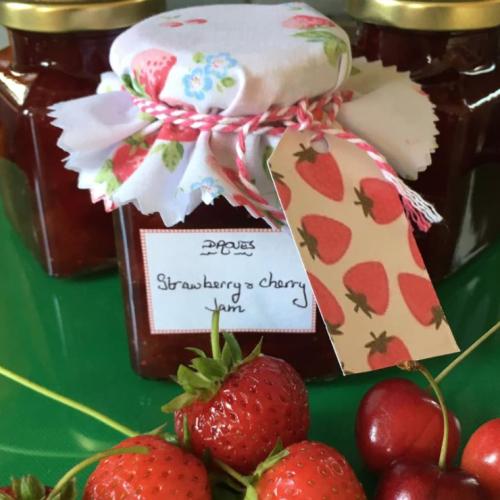 Strawberry & Cherry Jam