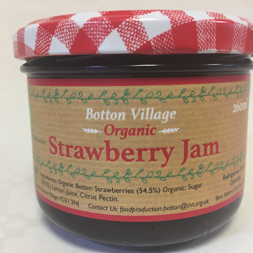 Strawberry Jam, Organic