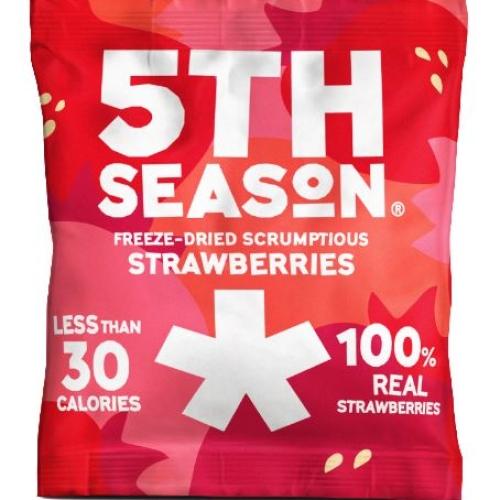 5th Season Freeze-Dried Scrumptious Strawberries 6 x 8g