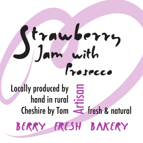 Strawberry Jam with Prosecco