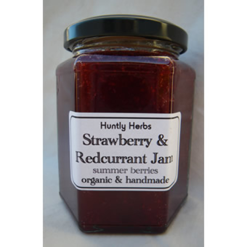 Strawberry & Redcurrant Jam 300g