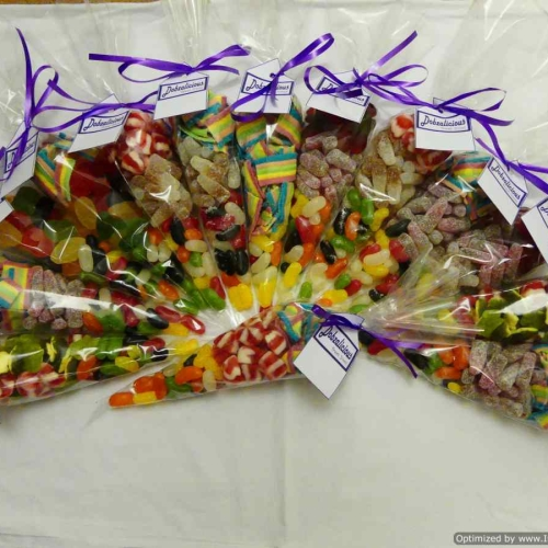 10 Cones of Mixed Sweets