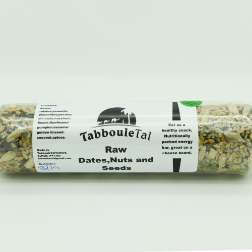 Raw - Dates, nuts & seeds / cinnamon, clove, cardamom & nutmeg