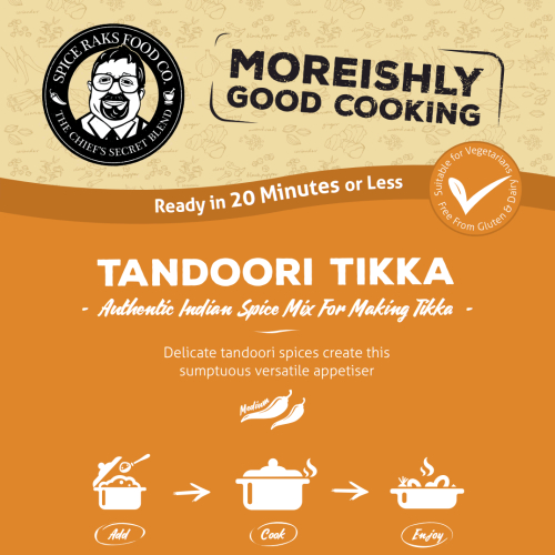 Chief's Tandoori Tikka Mix - Authentic 100% Good Taste!