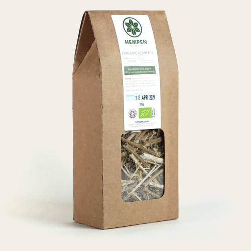British Grown Organic Hemp Stem Tea
