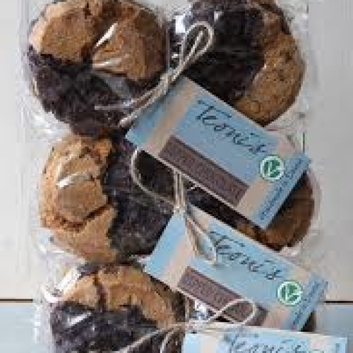 Teoni's - dipped chocolate cookies