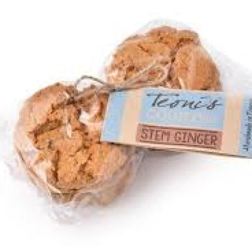 Teoni stem ginger cookies