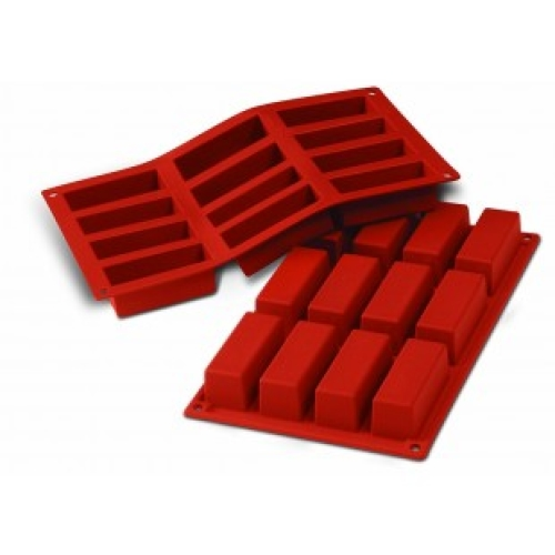Silicone 12 Rectangle Mould (17cm x 29.5cm)