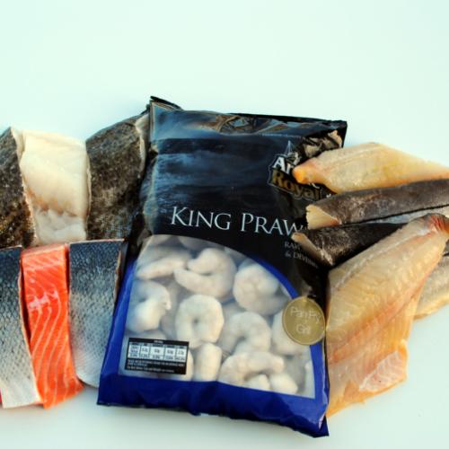 The Popular Fish Box (£3.50 per portion)