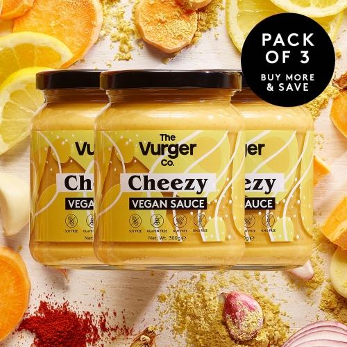 Multipack of 3 x Cheezy Vegan Sauce