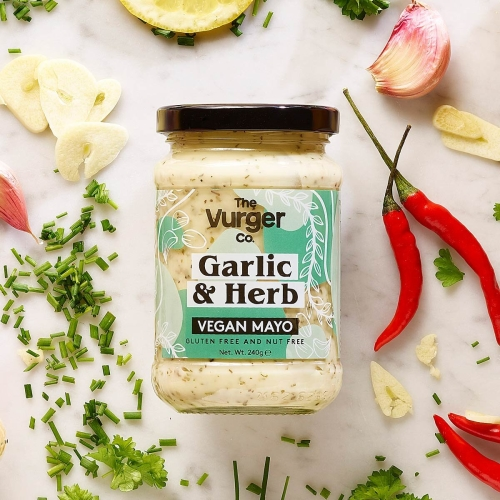 Garlic and Herb Vegan Mayo