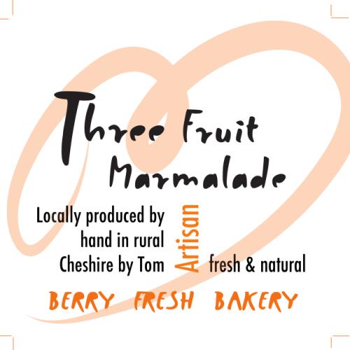 Three Fruit Marmalade