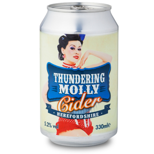 Thundering Molly Cider (330ml x 24 cans)