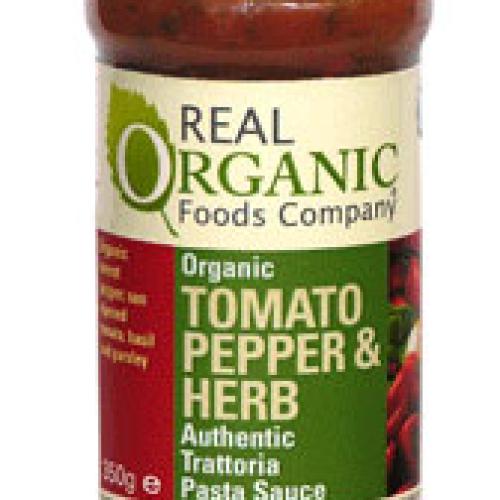 Tomato, Pepper & Herb, Pasta Sauce