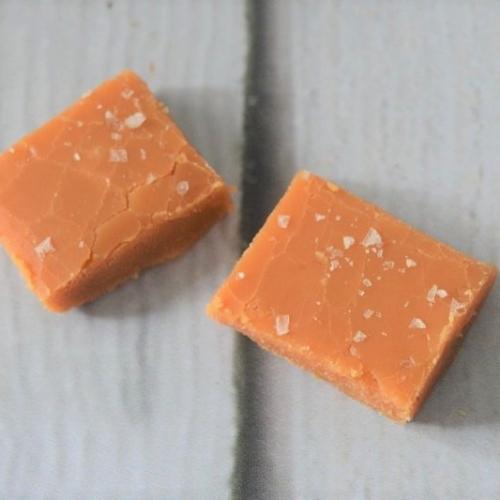 Artisan Traditional Fudge with Sea Salt Flakes