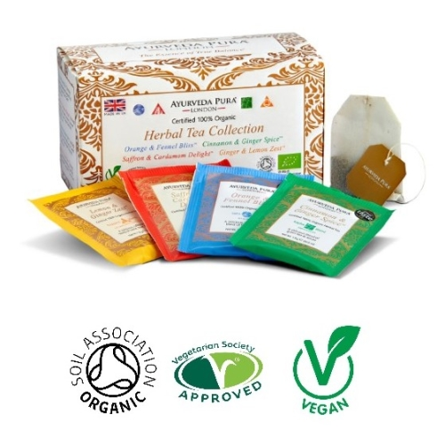 Herbal Tea Collection™ - Four unique wellbeing blends - 38g Box