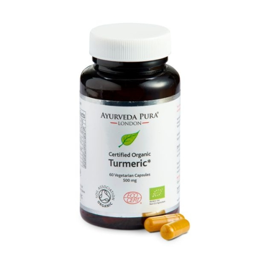 Organic Turmeric Herbal Capsules