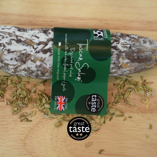 Tuscan Salami - Great Taste Award 2 stars 2019