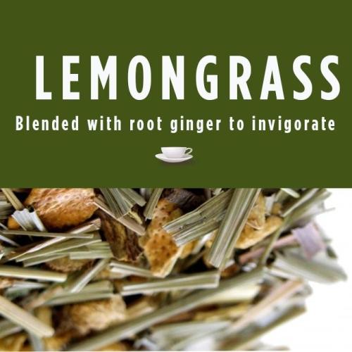 Lemongrass & Ginger Herbal Tea Blend-Refil Pouch