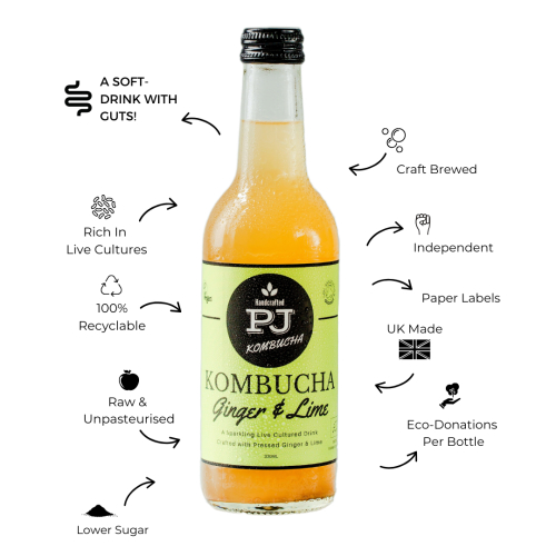 Ginger & Lime Kombucha
