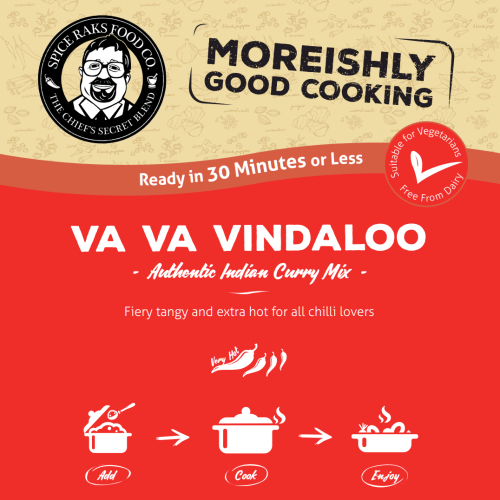 Chief's Va Va Vindaloo Curry Sauce Kit ( Dry Mix )