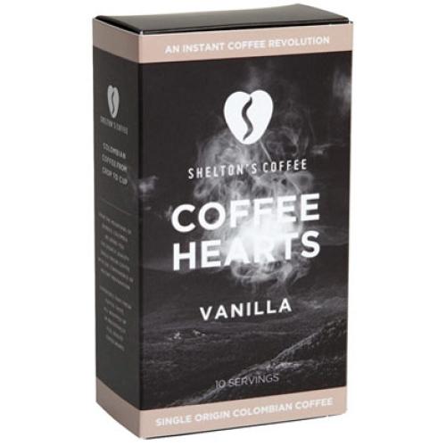 SHELTON'S VANILLA COFFEE HEARTS