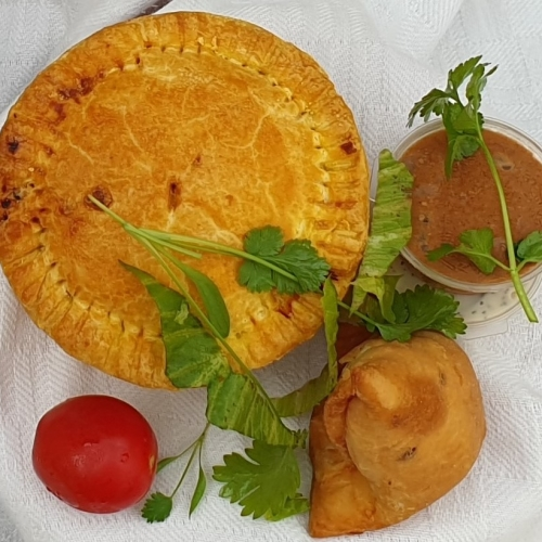 VEGAN Samosa Pie