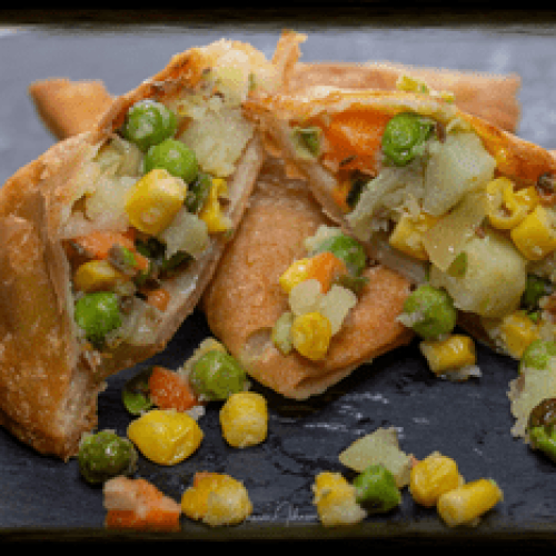 Vegetable (vegan)  Samosa Wallah Samosa