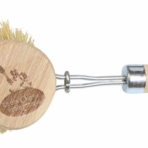 Fiber dish brush