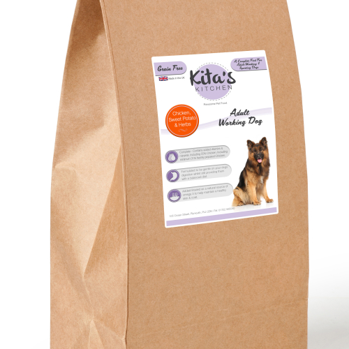 Kita's Kitchen Grain Free Chicken & Sweet Potato Dog Food 15kg