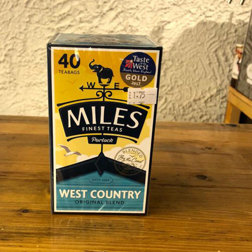 Miles West Country Tea
