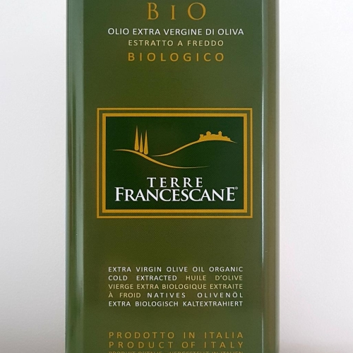 100% Italian Organic Extra Virgin Olive Oil 5L Can